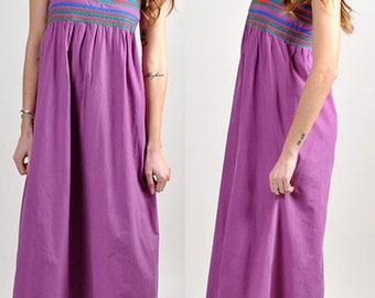 beautiful flirty vintage PIERRE CARDIN maxi dress      H12