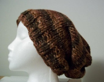 Digital Only - Pattern - Knit - Slouch Hat - NOT A Finished Product!!!
