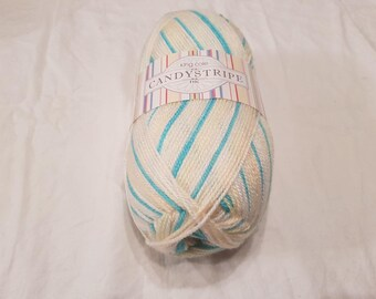 King Cole ball of 100g Candystripe DK yarn.