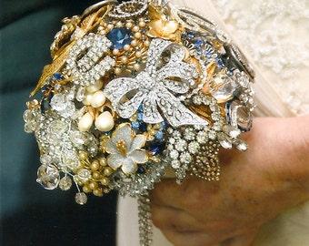 Brooch Bouquet Grandma's jewelry box