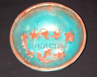 Polymer Clay Trinket Dish Jewelry Bowl