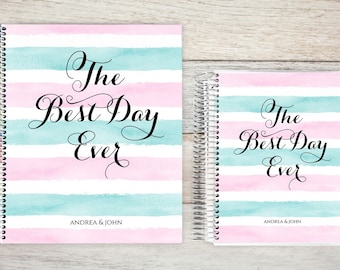 Custom Wedding Planner, Wedding Planner Book, Engagement Gifts for Couple, Bride to be Present, Bridal Organizer, best day ever