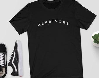Herbivore - T-Shirt/Top/Shirt - Vegan/Vegetarian - Graphic Tee - Vegan Gift/Perfect Gift/Plant Based/Plant Eater/Veggie
