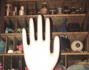 Vintage Shabby Porcelain Glove Mold