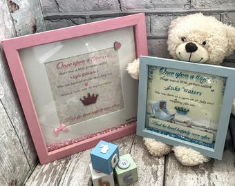 Personalised baby gift Personalised new baby gift Personalised Christening gift Personalised baby naming gift Personalised baptism gift