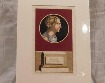 Jacobus Gronovius - Thesaurus Graecarum Antiquitatum - Hand Coloured Engraving - Published Leiden 1697 - Titled: CALAIS