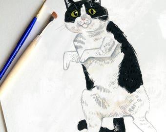 Custom Pet Portrait Illustrations