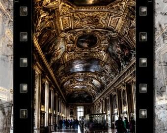 Paris Photography, Paris Art, Digital Art, Paris Photo, Napoleon Photography, Louvre Photo, Louvre Print, Louvre Photography, Wall Art Decor