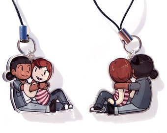 Rellie Acrylic Charm - The Last of Us - Ellie - Riley Abel