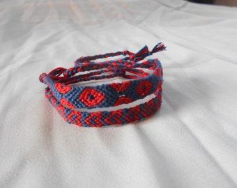 I <3 Fishman Bracelet Set, fishman bracelet, Phish bracelet, friendship bracelet, Phish Valentine, Valentine's Day gift, Phish Love