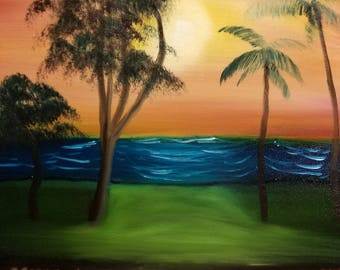 Maui Sunset Print