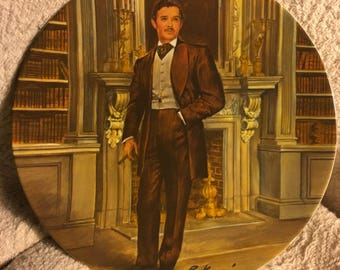 Rhett from the Knowles Gone With the Wind collectors series collectible plate