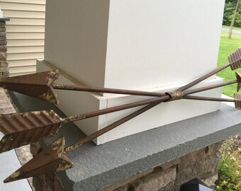 Arrows/ Triple Arrow Wall Decor/ Metal Arrows/ Wall Decor/ Home and Garden Decor/ Rustic Arrows