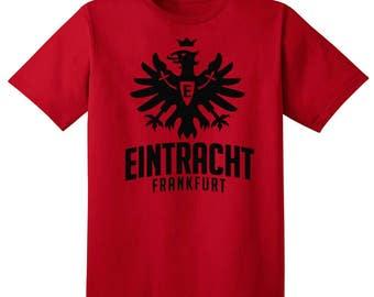 Eintracht Frankfurt T Shirt Soccer Futbol Germany Bundesliga