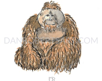 100 Animals, 100 Days: The Orangutan DIGITAL FILE