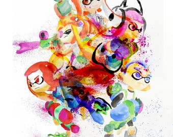 Splatoon Epic Large Print!