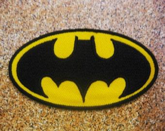 Free shipping BATMAN sew iron Patch Badge 4.5x9CM