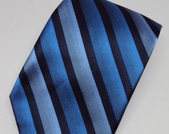 Stafford Striped Blue Necktie