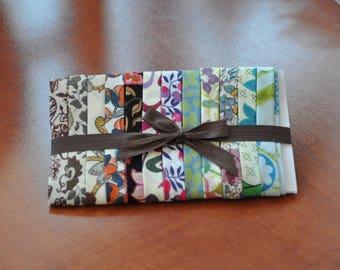 Set of 12 45-50 cms (LOT10A2) Liberty fabric