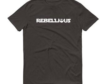 Rebellious, Star Wars, Rebel Alliance, Short-Sleeve T-Shirt