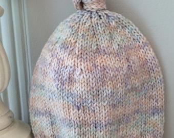 Knit Little Sprout Baby Hat