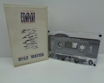 Bad Company Holy Water Cassette