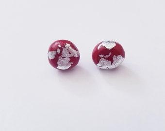 Double date earrings