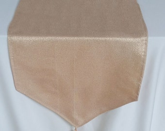 20% discount. Rose gold table runner. Decorative rose gold table runner. Rise good table decar. 88x13.5 inch. 4pcs in stock ready to ship.