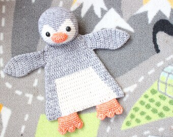 Penguin Ragdoll crochet amigurumi pattern PDF INSTANT DOWNLOAD