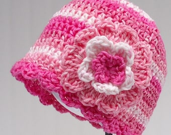 Crochet Pattern Chemo Cap Hat Women's PDF Pattern No 15 Permission To Sell Finished Items