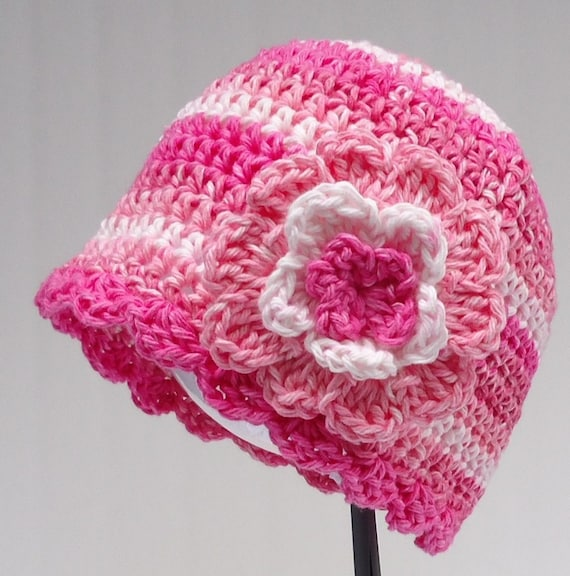 Crochet Pattern Chemo Cap Hat Women S Pdf Pattern No 15