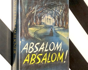Absalom, Absalom! by William Faulkner (1951) Modern Library hardcover book
