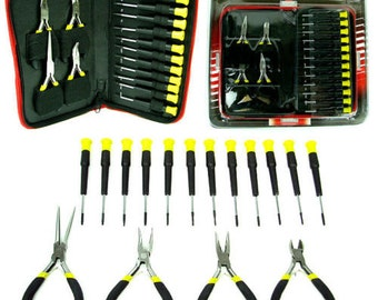 Trademark Tools™ 16 Piece Precision Jewelers Tool Set with Case