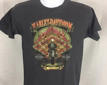 Vintage Harley Davidson Motorcycle T-Shirt Size XS