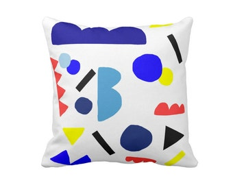 Geometric Pillow, Abstract Pillow, Scandinavian pillow Kids, Nordic, Home Decor, Colorful Nursery pillow Bauhaus Modern Art Cut Outs Matisse