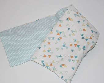 Heating pad with lavender and organic flaxseed - special neck / 00573
