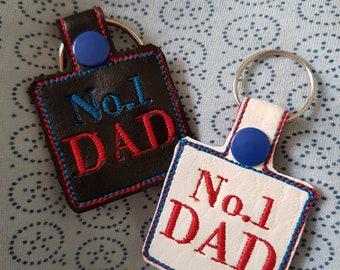 No1 Dad Keyfob