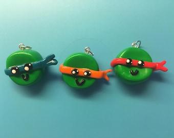 Ninja Turtle Charms