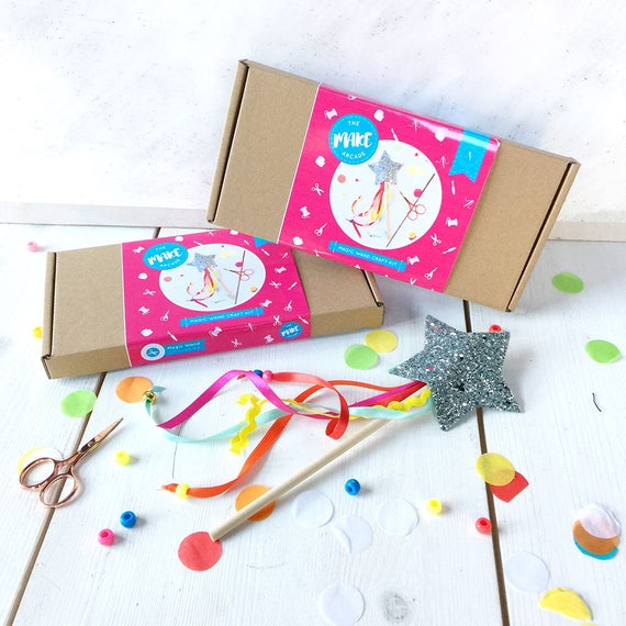 Magic Wand Making Kit Craft Kit Felt Kit Craft For Kids