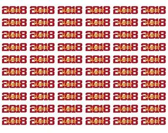 60 Graduation Stickers - 2018 Grad Stickers - 2018 - Grad Stickers - Graduation Stickers - Graduation Labels - Graudation - Graduate