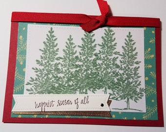 Pine Valley Holiday Card - Happiest Season of All Holiday card- Seasons' Greeting Card