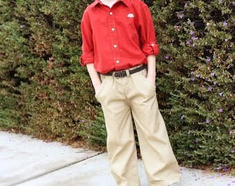 Boy /Girls pants pattern, easy pants sewing pattern with pockets / cargo pants pattern sizes 3 months - 12 years, Seamingly Smitten sewing