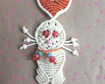 Handmade Macrame bunny