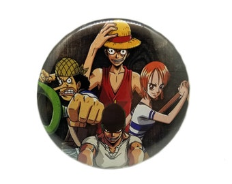 2.25-Inch One Piece Pin-Back Button