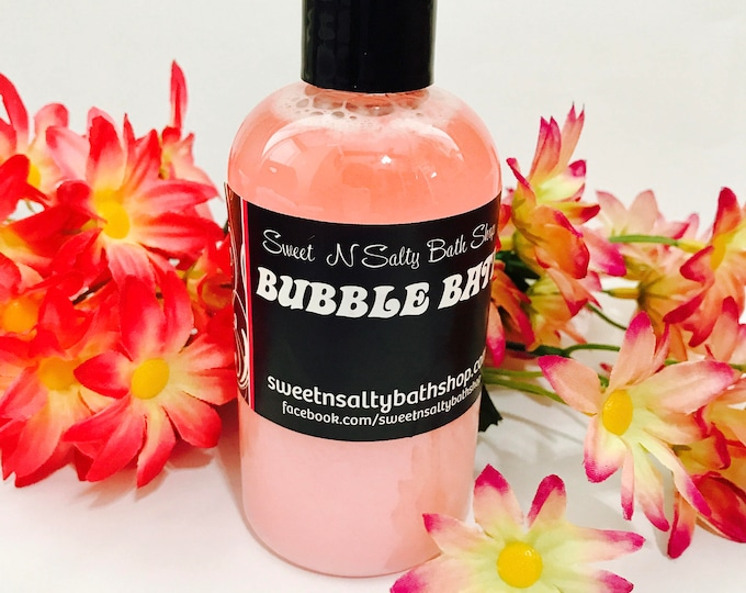 Bubble Bath-Choose Your Scent/Sweet Pea/Lavender Vanilla/Spearmint Eucalyptus and More!