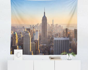 New York Wall Décor | New York Tapestry | Empire State Building | New York Wall Tapestry | New York Wall Art | New York City Tapestry
