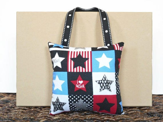 Patriotic Door Hanger Pillow Stars Stripes Usa Fourth Of July