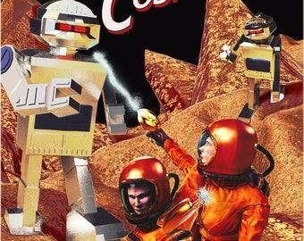 The Cosmonaut - Issue #1 (Retro Cover)