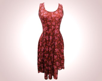 Red Caffeine dress
