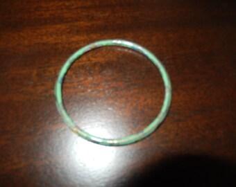 GREEN CLOISSONE BANGLE Bracelet